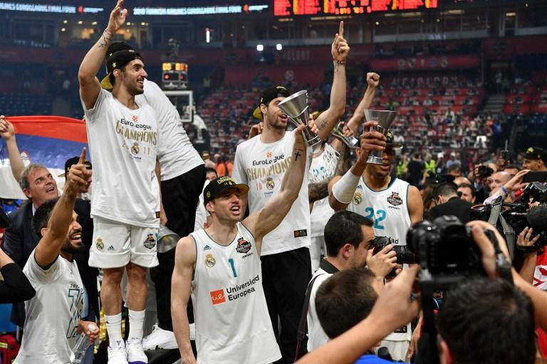 BASKETBALL - EUROLEAGUE - FINAL - FOUR - REAL MADRID - FENERBAHCE