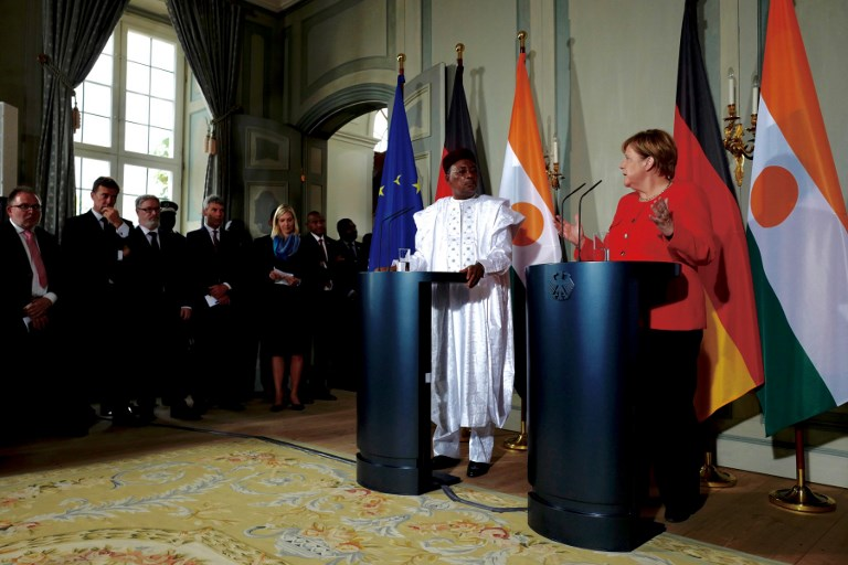 GERMANY - NIGER - DIPLOMACY