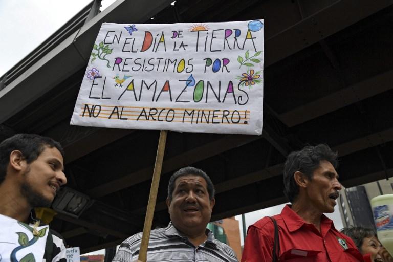 VENEZUELA - CRISIS - WATER - SHORTAGE - EARTH - DAY - DEMO